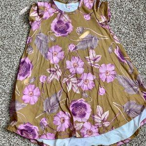 Girls LulaRoe hi-lo dress